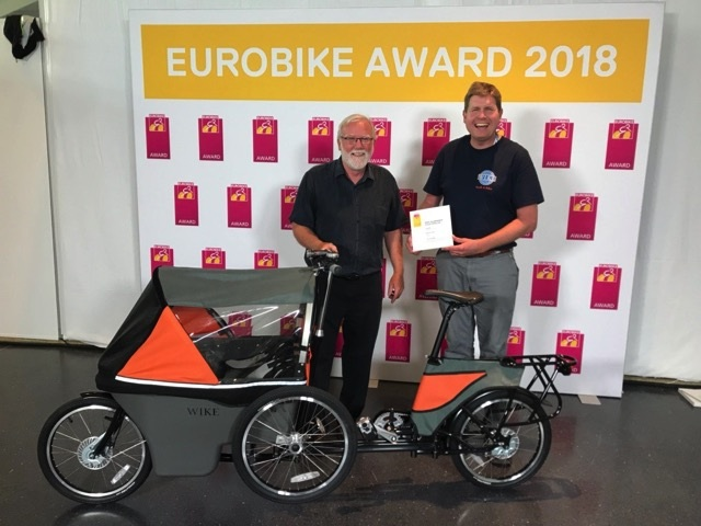Guelph Company Awarded 2018 Eurobike Award For The Salamander Cycle Stroller 2