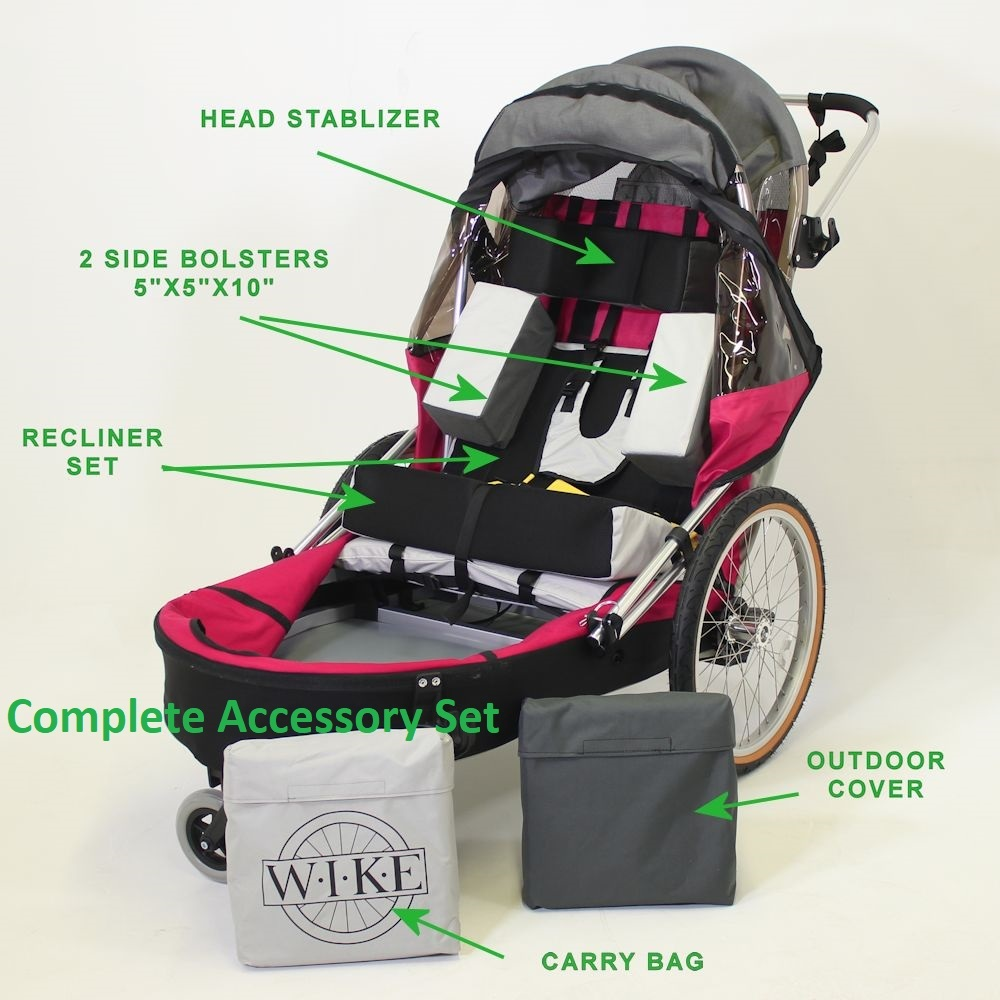 Complete Accessory Set - Special Needs Trailers