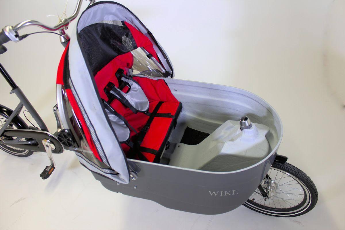 Wike Salamander Stroller bike open