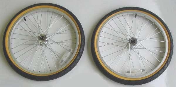 Push Button Alloy Wheels - 50.8 cm - Stocked in Europe