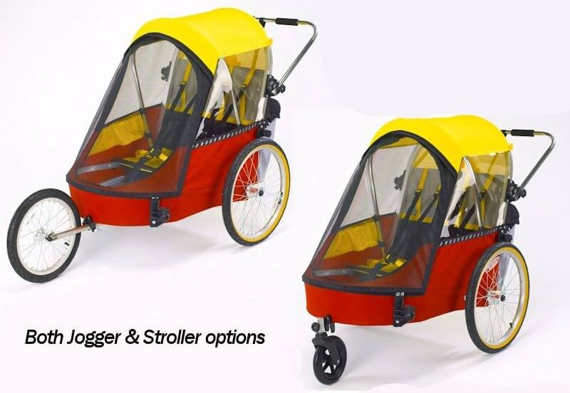 Stroller and Jogger Upgrade - Double - Stocké en Europe