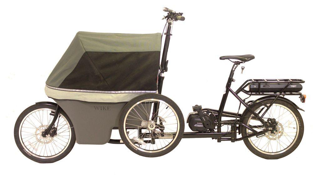 Cargo bike frog side