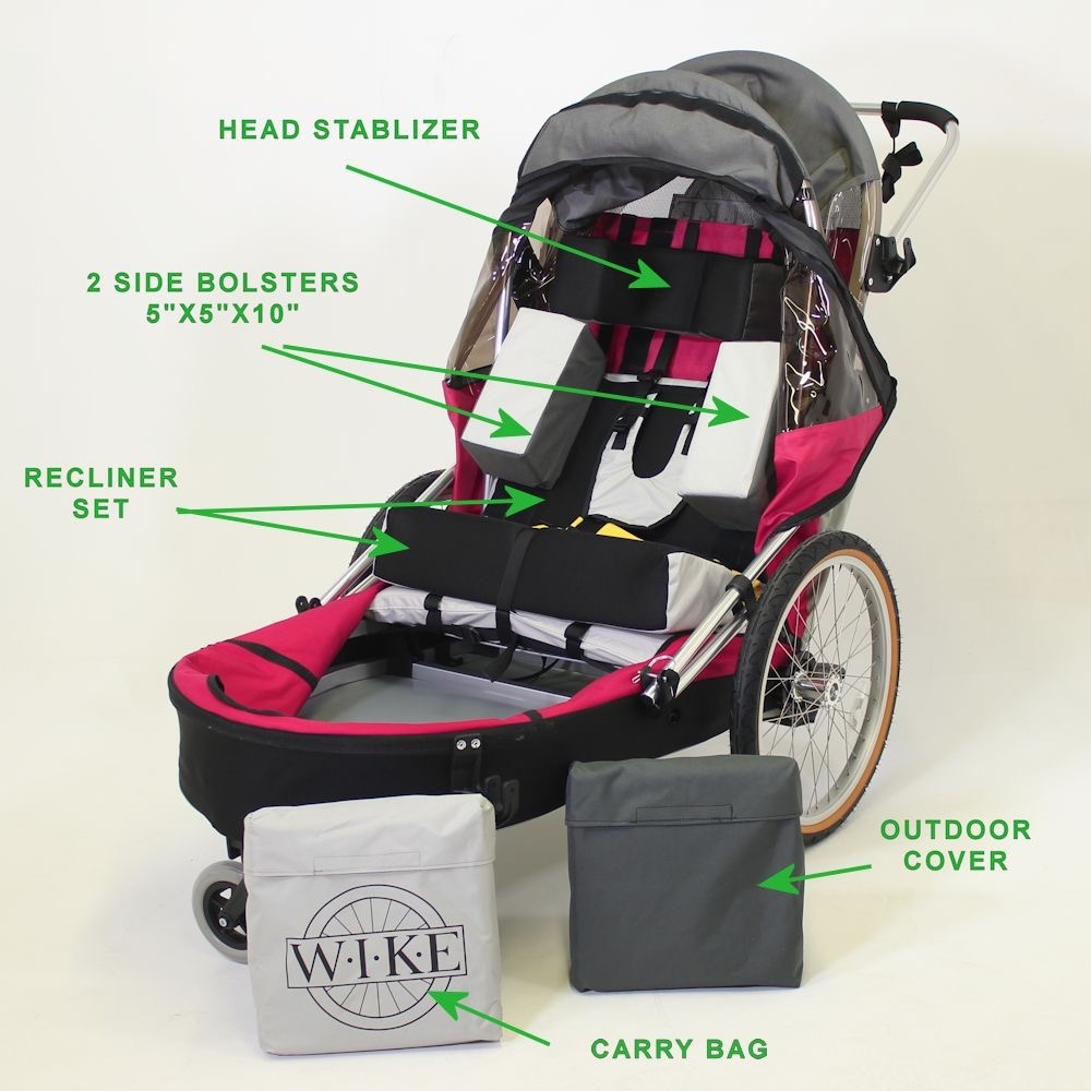 Complete Accessory Kit - Special Needs Trailers