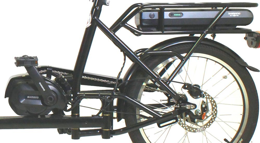 Shimano Steps Mid-drive for Cargo Bike